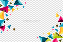 Abstract Frame PNG Photo