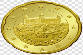 Gold Euro PNG Pic