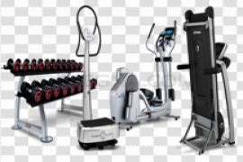 Gym Equipment PNG Picture