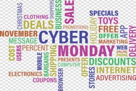 Cyber Monday PNG File