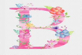 B Letter PNG Photo