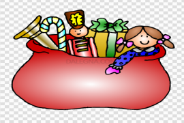 Open Christmas Gift PNG HD
