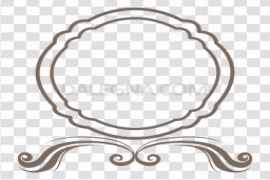 Round Frame PNG Image