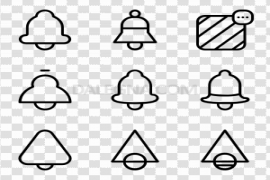 YouTube Bell Icon PNG Pic