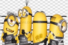 Group Minions PNG Picture