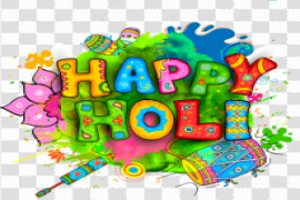 Happy Holi Background PNG