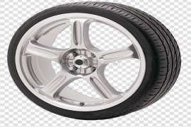 Alloy Car Wheel PNG File
