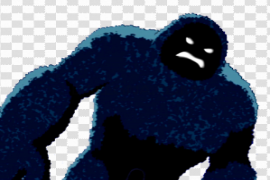 Blue Monster PNG Pic