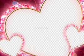 Heart Love Frame PNG Clipart