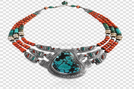 Red Coral Jewellery PNG Picture