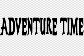 Adventure Time Logo PNG Free Download
