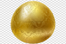 Gold Easter Egg PNG Pic