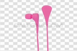 Mobile Earphone PNG Pic
