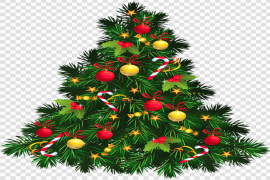 Christmas Old Fashioned PNG Transparent HD Photo