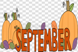 September PNG Pic