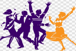 Dance Party PNG Pic