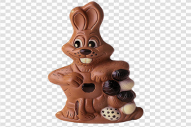 Easter Bunny Chocolate PNG Pic