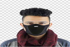 Anti-Pollution Face Mask PNG Free Download