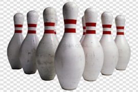 Bowling Strike PNG Transparent Picture