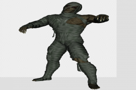 Scary Mummy Transparent PNG