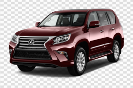 Red Lexus PNG Clipart