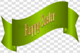 Easter Banner PNG Picture