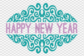 Happy New Year PNG Photos5