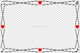 Love Romantic Frame PNG Image