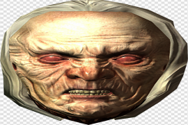 Witch Face Transparent PNG