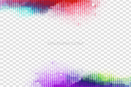 Abstract Frame PNG File