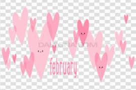 February PNG Image
