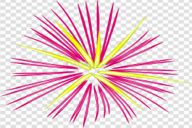 Pink Vector Fireworks PNG Clipart