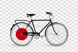 Bicycle Wheel PNG Background Image