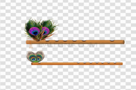 Professional Bamboo Flute Transparent PNG