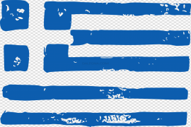 Greece Flag PNG Clipart