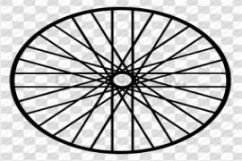 Bicycle Wheel Tire PNG Transparent