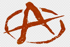 Red Anarchy PNG Photo