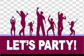 Dance Party PNG Photo