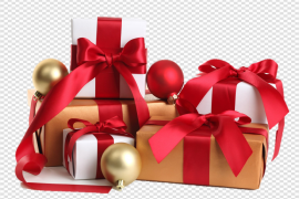 Christmas Gift Transparent PNG