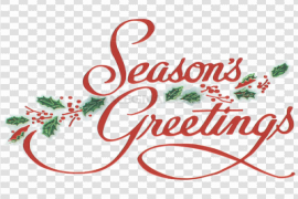 Greeting PNG Transparent Picture