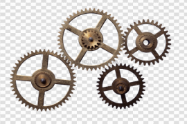 Steampunk Gear PNG Free Download