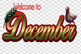 December PNG Photo
