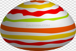 Colorful Easter Egg PNG Picture