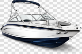 White Boat PNG