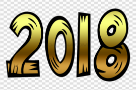 2018 Happy New Year PNG Clipart