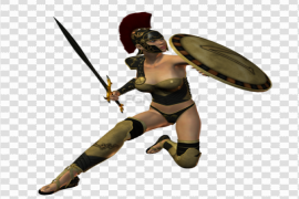 Woman Warrior PNG Free Download