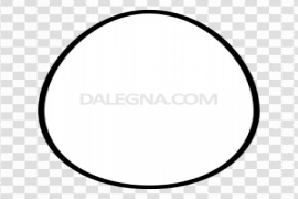White Easter Egg PNG Transparent Picture
