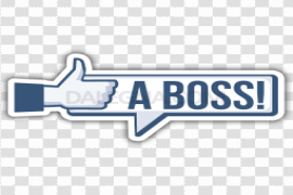 Like A Boss Transparent PNG