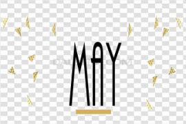 May Transparent Background