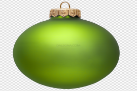 Colorful Christmas Ornaments Download PNG Image